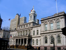 City Hall in New York. Picture of the City hall in New york Royalty Free Stock Image