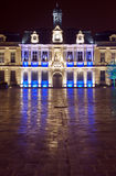 City Hall at night Stock Photography