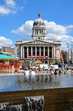 City Hall, Nottingham. Stock Photos