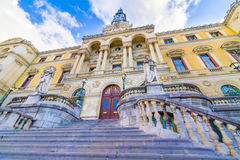 City Hall Of Bilbao Stock Photo