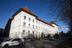 Free City Hall Of Timisoara Royalty Free Stock Images - 208934339