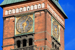 City Hall in the Old Town in Copenhagen, Denmark Stock Photos