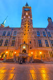 City hall in old town of Gdansk. Poland Stock Photography