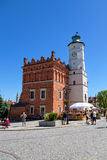 City Hall in the Old Town in Sandomierz in Poland Royalty Free Stock Photos
