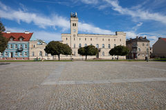 City Hall and Old Town Square in Radom Royalty Free Stock Photo