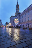 City Hall in Opole Stock Images