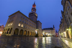 City Hall in Opole Royalty Free Stock Photo