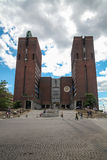 City Hall in Oslo. Norway royalty free stock images