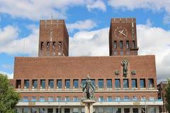 The City Hall of Oslo, Norway, Scandinavia, Europe. royalty free stock photos