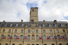 City Hall in the Palace of Dukes and Estates of Burgundy. Dijon, France Royalty Free Stock Photo