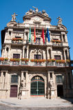 City Hall of Pamplona Stock Image