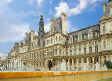 City hall of Paris, France Royalty Free Stock Photography