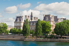 City hall of Paris, France Stock Images
