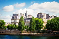 City hall of Paris, France Stock Photography
