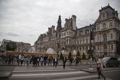 The city hall of Paris Stock Photo