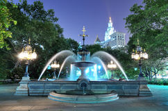 City Hall Park Royalty Free Stock Image