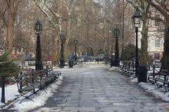 New York City Hall Park Royalty Free Stock Photo