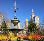 City Hall Park New York Stock Photography