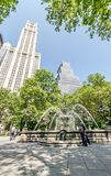City Hall Park Royalty Free Stock Image