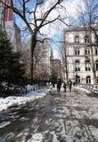 City Hall park, New York Royalty Free Stock Photos