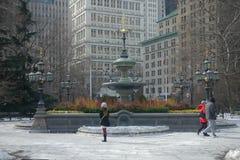 New York City Hall Park Royalty Free Stock Image