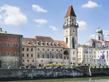 City Hall Passau stock image