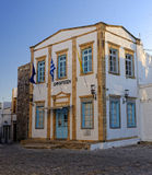 City Hall on Patmos island Stock Images