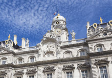 City Hall on Place des Terreaux, Lyon, Lyon Royalty Free Stock Photos