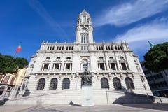 The City Hall of Porto Royalty Free Stock Photo