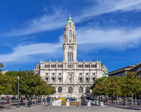 The City Hall of Porto Stock Images
