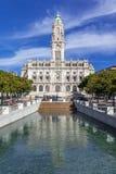 The City Hall of Porto Royalty Free Stock Photography