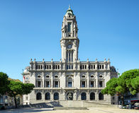 The City Hall in Porto, Portugal. Royalty Free Stock Images