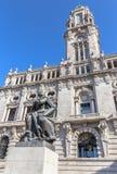 City Hall of Porto Stock Photos
