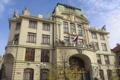 City Hall of Prague Stock Photo