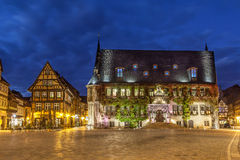 City Hall of Quedlinburg on Markt square Royalty Free Stock Photography
