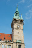 City hall (Rathaus) tower Stock Photography