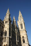 City hall - Rathaus - in Vienna Stock Photography