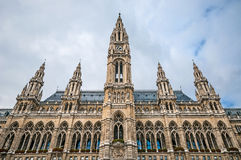 City Hall (Rathaus) in Vienna Stock Image
