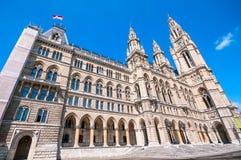 City Hall (Rathaus) in Vienna, Austria Royalty Free Stock Photos