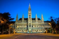 City Hall Rathaus in Vienna, Austria Stock Photography