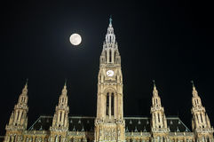 City Hall (Rathaus) in Vienna, Austria Stock Photos
