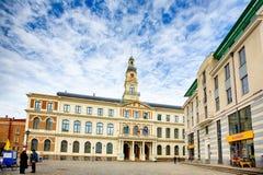 City hall in Riga Stock Photos