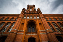 City Hall (Rotes Rathaus), in Mitte, Berlin, Germany. Stock Photo