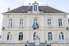 City hall of Rully, burgundy, France Royalty Free Stock Photography