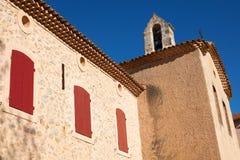 City-hall in Saint Antonin sur Bayon Stock Image