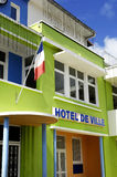 City hall of Sainte Luce in Martinique Royalty Free Stock Images