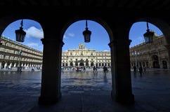 City Hall Salamanca Royalty Free Stock Image