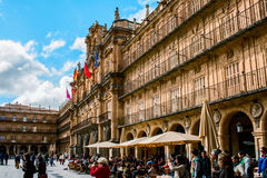 City Hall of Salamanca Stock Image