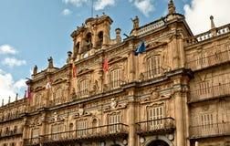 City Hall of Salamanca Stock Photos