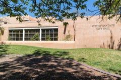 City Hall, Santa Fe, New Mexico stock photos